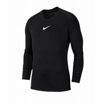 Nike Park First Layer Unterziehshirt Schwarz Kids